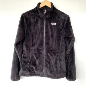The North Face black fleece Osito jacket